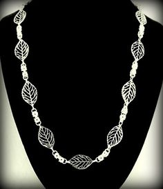 Byzantine and Leaves Necklace | byBrendaElaine - Jewelry on ArtFire
