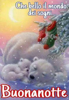 Buonanotte immagine #3148 - Che bello il mondo dei sogni... Buonanotte - Immagine per Facebook, WhatsApp, Twitter e Pinterest.