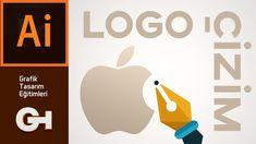 Apple Logosu Vektörel Çizimi Adobe Illustrator, Make It Yourself, Education, Onderwijs, Learning