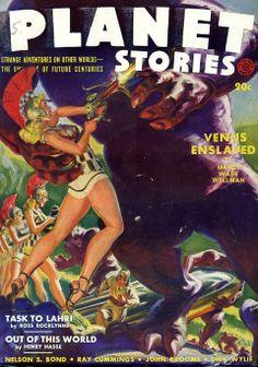 Planet Stories - Venus Enslaved