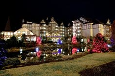 Inn at Christmas Place in Pigeon Forge, Tennessee
