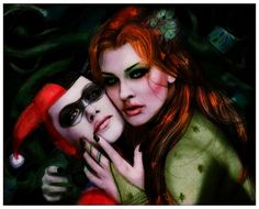 .Harley Quinn and Poison Ivy