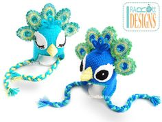 Pavo the Peacock Hat PDF Crochet Pattern preview photo 4