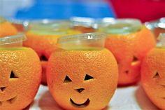 Manualidades Halloween: Naranjas con forma de calabaza