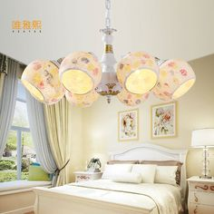 2017 New Hot genuine zinc vintage bedroom lamp LED Chandelier lights Top novelty Indoor Lights wedding decoration kitchen light