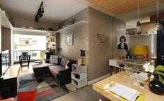 Estilos industrial, retrô e minimalista são os preferidos na casa; saiba usar