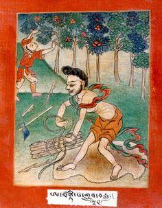 Indian Adept (siddha) - Achinta