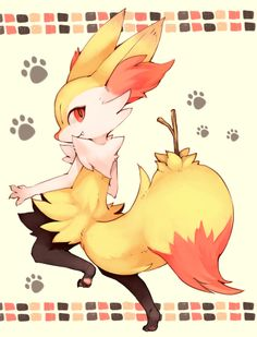 I really wanna cosplay Braixen, just trying to figure out how to do it.