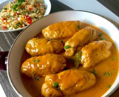 Wiejskie roladki drobiowe - Blog z apetytem Meatball Recipes, Chicken Recipes, Yummy Food, Tasty, Cooking Recipes, Healthy Recipes, Polish Recipes, Main Dishes, Dinner Recipes