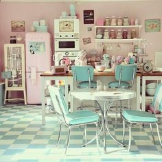 [ MCD ] Une Cuisine Vintage Et Pastel ? Mon Rêve !