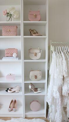 Fill your closet with the most Beautiful Accessories. Fill your closet with the most Beautiful Accessories. Closet Collection, Glam Room, Cute Room Decor, Room Closet, Closet Designs, Closet Organization, Closet Storage, Organization Ideas, Handbag Storage