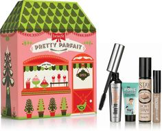 ULTA Exclusive! Indulge in the ultimate beauty gift Pretty Parfait...Benefit Cosmetics bestselling problem-solvers together in one adorable collectible tin! An $81 value!.