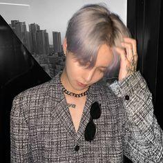 Korea Fashion, Boy Fashion, Fashion Beauty, Fashion Outfits, Beauty Style, Korea Boy, Boy Tattoos, Ulzzang Boy, Best Face Products
