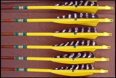 Dipping and fletching arrows
