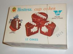 Hostess Cup cakes box by grickily, via Flickr