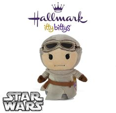 Hallmark ITTY BITTYS ●● Star Wars REY ●● Itty Bitty Limited Edition! Awakens!