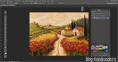 Как увеличить картинку в фотошопе - кадрирование и дорисовка изображения