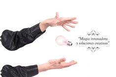 """""""Magia innovadora y soluciones creativas"""". Dinos que deseas y nosotros crearemos el método para que surja la magia. www.tumago.com"""