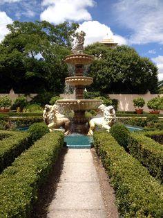 The Italian Renaissance Garden in Hamilton.