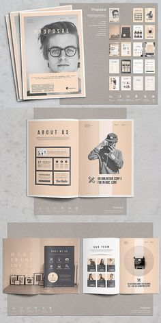 53 Ideas For Design Layout Brochure Booklet Ppt Design, Buch Design, Design Poster, Layout Inspiration, Graphic Design Inspiration, Brochure Inspiration, Portfolio Design, Graphic Portfolio, Portfolio Ideas