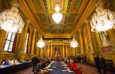 Goldsmiths' Hall, City of London - Trial of the Pyx 2014