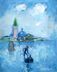 Kees van Dongen (1877-1968) Gondolier à Venise