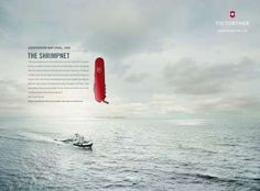 The Victorinox Companion For Life Campaign Focuses on Positive Feedback #typography #typographyproducts trendhunter.com