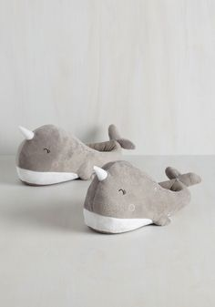 Sea-son to Snuggle USB Foot Warmers, @ModCloth