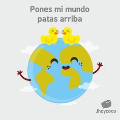 Patas arriba - Happy drawings :)