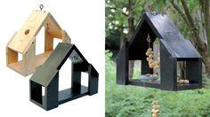 Met dit robuuste vogelhuis hebben vogels in alle seizoenen een dak boven hun hoofd. Hang het voederhuisje op aan een tak van een boom of bevestig hem aan de schutting.