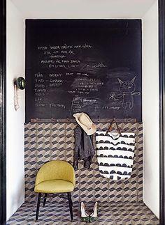 Suéde / La maison d'une architecte d'intérieur / Photos Sara Svenningrud /