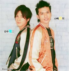Junichi Okada and Tomoya Nagase