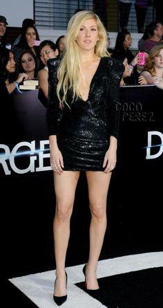 Ellie Goulding @ Divergent premiere 3/18/14