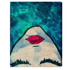 Water Coveted Canvas Print, Oliver Gal