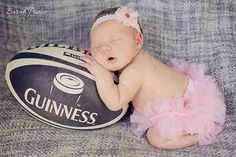 newborn photos with rugby ball - Google Search