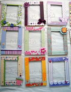 1 million+ Stunning Free Images to Use Anywhere Popsicle Stick Crafts, Craft Stick Crafts, Paper Crafts, Picture Frame Crafts, Picture Frames, Homemade Frames, Christmas Crafts For Kids To Make, Diy Crafts For Gifts, Diy Frame