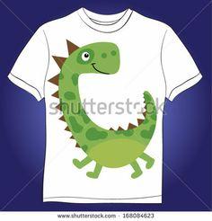 dinosaur vector by StudioLondon, via Shutterstock