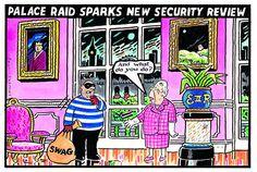 2013-09-09 express Celebrity Caricatures, British Royals, Cartoons, Royalty, Mac, Queen, Pink, Royals, Cartoon