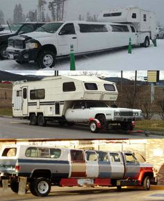 Oh this is all kinds of RV camper limo gone wrong lol... Don't you agree?