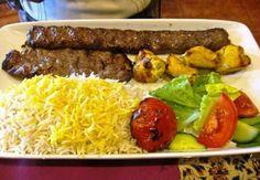 Iranian food (kebab)