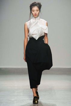 You can just feel how inspired this collection is! I love it! Aganovich S/S15 #ss15 #pfw