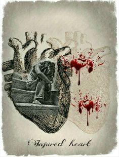Injured heart...