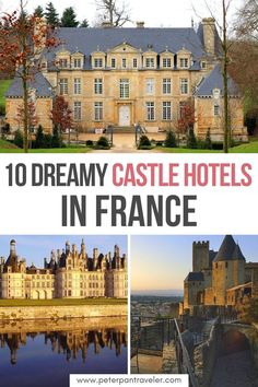 10 Dreamy Castle Hotels in France. Dreaming to stay in a real castle? What if you could make your dreams a reality? Here are some of the best castle hotels in France, that you can stay in to make your dreams come true. Castle Hotels in France   Castle Hotels France    Castle Hotel Room   French Castles Chateaus   Where to stay in France   #chateau #castle #castlehotels #france # #frenchcastles Paris Travel Guide, Travel Guides, Dubrovnik, Castle Hotels In France, Medieval City, European Travel Tips, France Travel, Travel Europe, French Castles