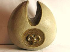 Mid Century Owl Sculpture, unknown artist.