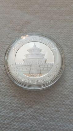 2009 30th anniversary BU China 1 oz Silver Panda - In original capsule