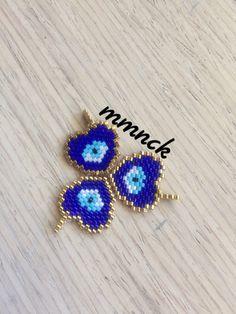 Beaded Jewelry Designs, Geometric Jewelry, Seed Bead Jewelry, Jewelry Making Beads, Pony Bead Patterns, Beading Patterns, Peyote Beading, Diy Schmuck, Brick Stitch