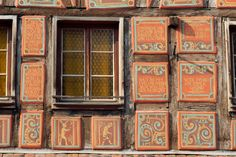 Strasbourg, French Windows, Alsace, Facade, Barn, France, Genealogy, House, Patterns