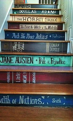 Staircase for book lovers
