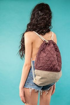 "Gym Bag ""Blackberry Quilt""  49 EUR"