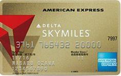 Delta Skymiles American Express Gold 376176 Japan